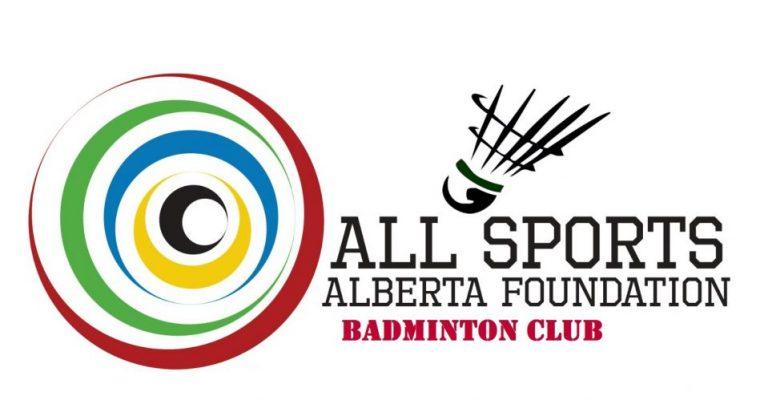 All sports Alberta Foundation Board Badminton Club