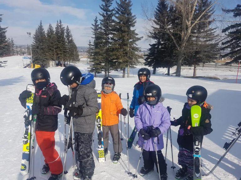 Skiing and Skating