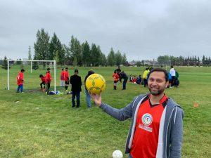 Soccer and Adeel