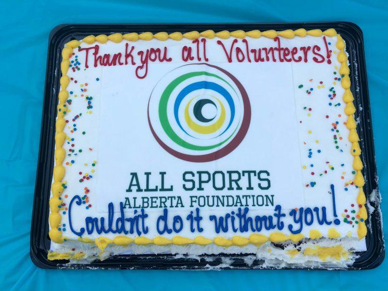 Volunteer Appreciation Cake